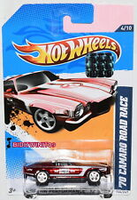 HOT WHEELS 2012 HW PERFORMANCE SUPER TREASURE HUNT '70 CAMARO ROAD RACE