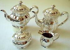 Kaffee- & Teeservice | Silber 800 | Wilkens / Bremen | 4tlg. | ~1900