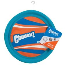 Chuckit! Colorful Liteflight : High Visibiltiy Frisbee  :  Dog Activity Toy  New