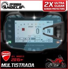 2 x Cluster Scratch Protection Film Screen Protector: DUCATI MULTISTRADA 15+ UC