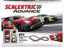SCALEXTRIC ADVANCE Circuito GT3, Escala 1:32, 5,99m de Pista - (8436572910294)