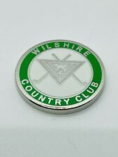 Wilshire Country Club Los Angeles CA Invitational Ball Marker Coin Metal Mint