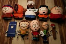 South Park large plush dolls lot - Towelie, Jimmy, Timmy, Chef, etc - 1998 2002