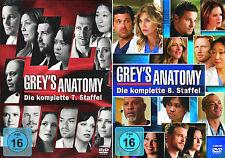 Grey's Anatomy - Die komplette 7. + 8. Staffel (Greys)               | DVD | 273
