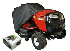 PLASTIC PROTECTION COVER FOR LAWN TRACTOR WITH SIDE DISCHARGE