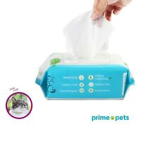 Hypoallergenic Pet Wipes for Dogs & Cats, Grooming Wipes for Paws Eyes Butt Body