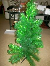vintage Christmas tree 2ft green