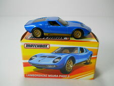 Matchbox Lamborghini Miura P 400 S w/ Box The Best of Matchbox 1/64 Scale A4