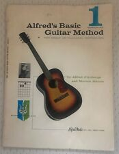 """""""Alfred's Basic Guitar Method for Group/Individual Instruction"""" (Pprbck, 1959)."""