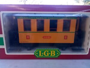 LGB 3006 Dodge City & Great Western RR Passenger Car G Scale New