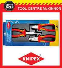 KNIPEX 00 20 12 ELECTRO SET 3pce 1000V VDE PLIER SET – MADE IN GERMANY