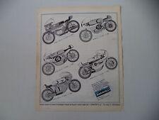 advertising Pubblicità 1970 PROTAR MOTO BENELLI 250/MZ/YAMAHA/HONDA/SUZUKI 125