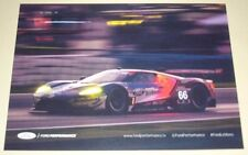 Le Mans 2017 FIA WEC & USCC Ford Performance Ford GT Double Sided Postcard Sized
