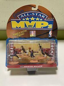 Basketball Houston Rockets Galoob NBA All-Star 1997 MVP Figure Set New In Box