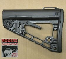 Rogers Super-Stoc Deluxe Carbine Superstock Black Butt Stock 223/5.56/300 AAC