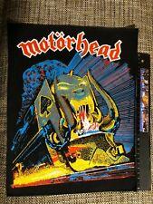 Motorhead Orgasmatron 80's original vintage rare backpatch, unused