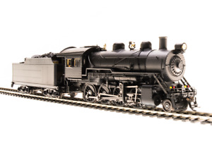 Broadway Limited 2-8-0: Unlettered Paragon 3 with DCC Sound and Smoke