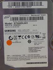 Samsung HD503HI, ST500DL001 / A4523-C721-BWVEF / 12.2012 - 500 GB disco rigido