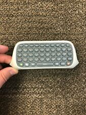 Official Microsoft Xbox 360 Chatpad Keyboard Text Keypad Controller White