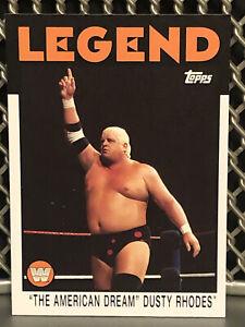 2016 Topps Heritage Dusty Rhodes WWE Wrestling Legends Card 1986 #72 NWA WWF AWA