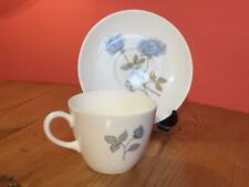 Wedgwood Ice Rose Bone China Tea Cups and Saucers