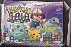 jeu nintendo 64  pokemon puzzle league