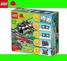 LEGO 10506 DUPLO Eisenbahn Weiche Schranke Schienen zu 3775 2734 2735 5608 5609