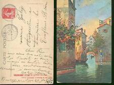 Carte Postale  Venise ecrite dos 1908 offerte par BERIOT chicorée