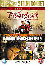 Fearless/Unleashed (DVD, 2007, 2-Disc Set)