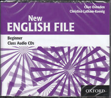 Oxford NEW ENGLISH FILE Beginner Class Audio CD's @BRAND NEW & SEALED@