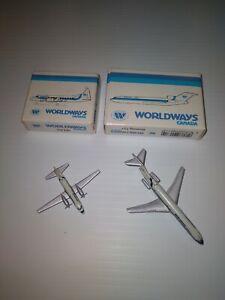 1/600 schabak Worldways Canada Convair 440 & Boeing 727 200 Made in Germany