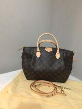 Louis Vuitton Turenne MM Monogram Leather Shoulder Handbag Purse Crossbody