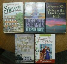 5 Eugenia Price Hardcover Book LOT Savannah MARIA Before Darkness Falls EUC