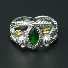 Lord Of The Rings Jewelry Aragorn'S Ring Of Barahir 925 Sterling Silver Us 8-13#