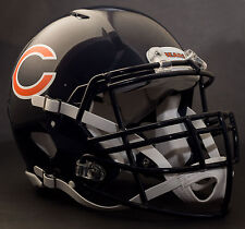 CHICAGO BEARS NFL Authentic GAMEDAY Football Helmet w/ S3BD-SP Facemask