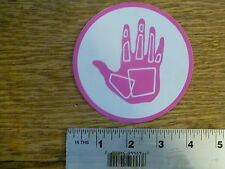 "Body Glove 4"" Magenta/White Circle Sticker Decal"