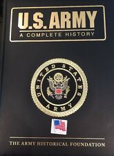 🇺🇸 U. S. ARMY: A Complete History  2004 Military Reference  Book Leather Bound