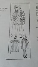 Antique Sewing Pattern Child's Dress 1930's- #4159