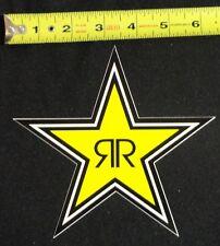 "Rockstar Energy Drink 6"" Logo Sticker Star Decal BMX Car Truck Window Moto Phone"