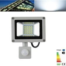 20W Cool White PIR Motion Sensor LED Flood Light Garden Outdoor Security Lamp