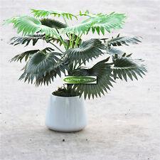 18 Leaf 50cm Artificial Coconut Palm Plant Tree Wedding Home Decor Green