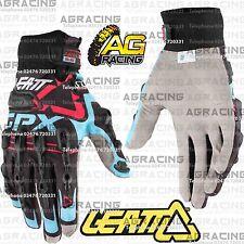 Leatt GPX 5.5 Windblock Black Blue Red Gloves X-Small XS Motocross Enduro ATV