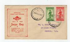 NEW ZEALAND: 1936 Anzac Day first day cover (SH106)