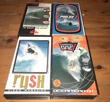 4 x Vhs Video Tapes In Very Good Condition, See Pictures For Description,