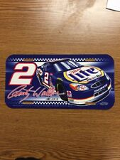 Nascar Miller Lite Rusty Wallace Liscence Plate #2