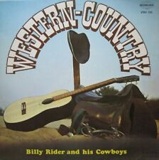 BILLY RIDER AND HIS COWBOYS - WESTERN COUNTRY  - LP