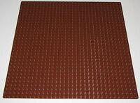 "Lego New Reddish Brown Baseplate 32 x 32 Dot 10"" x 10"" Plate Platform Piece"