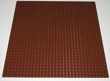 "Lego New Reddish Brown Baseplate 32 x 32 Dot 10"" x 10"" Plate Platform Piece"