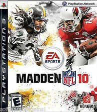 MADDEN  NFL 10 PS 3: FIGHT FOR EVERY YARD. IGN RATING 8.9 OUT OF 10! SHIPS FREE!