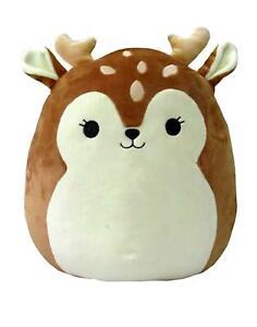 "Squishmallow Dawn the Fawn Deer Soft Plush Pillow 8"" / 20cm"